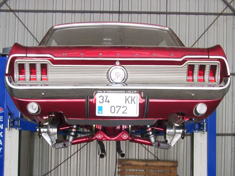 Independent Rear Suspension System Converstion Vintage Mustang